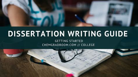 dissertation writing guide chemgradboom