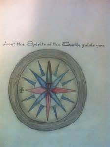pocahontas compass tattoo request drawn by brittany