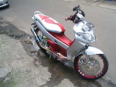 Karpet Nouvo Lele New Car Modification Dijual Yamaha Nouvo Lele Modified 1