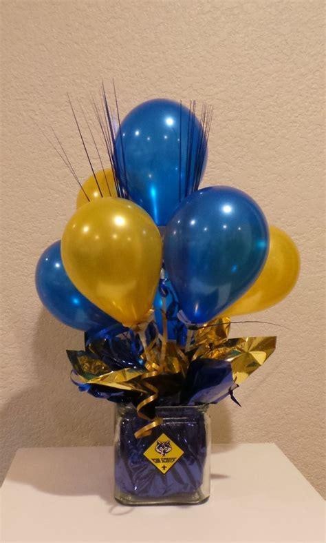 centerpieces using photos 173 best blue gold banquet cub scouts images on
