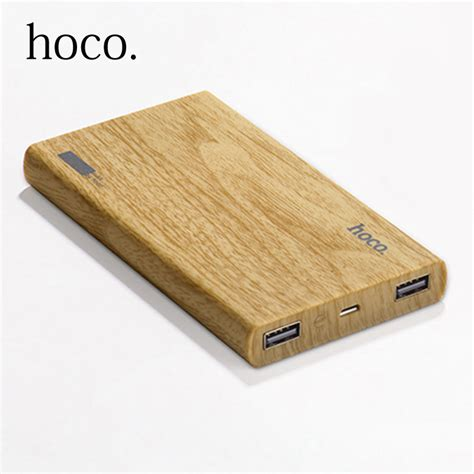 Charger Mobil Hoco Ucm01 2 In 1 Micro Usb Car Charger For Smartphone hoco power bank 13000mah dual usb wood grain design portable external battery charger powerbank