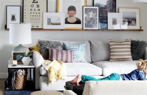 chris loves julia a massive wood picture ledge for the living room chris