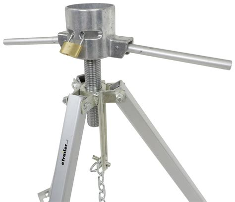 Tripod Stabilizer ford f 250 duty ultra fab 5th wheel king pin tripod stabilizer aluminum 34 quot to 52