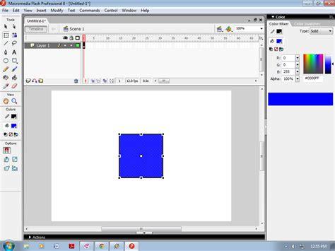 membuat gambar transparan di flash ricky quot s blog cara membuat animasi motion shape di flash 8