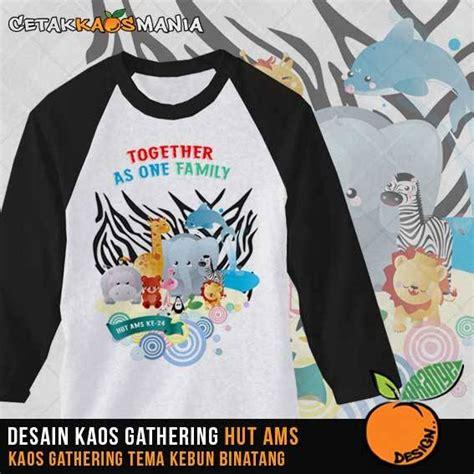 design kaos family gathering desain kaos untuk acara ulang tahun kaos kelas atau kaos