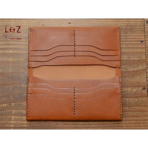 pattern for leather wallet bag stitch patterns long wallet patterns pdf ccd 08 l