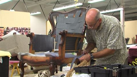 free online upholstery classes surry community college offers upholstery class myfox8 com