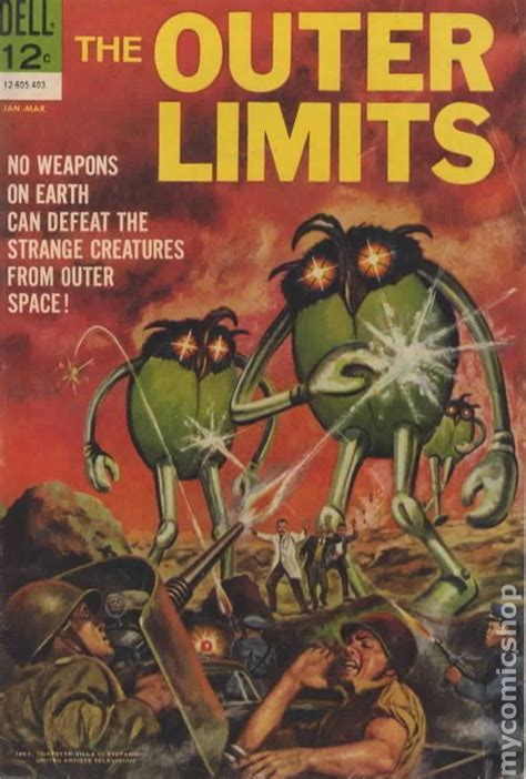 limits books outer limits 1964 comic books