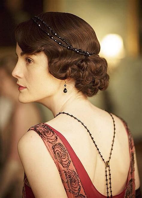 mary crawley haircut a song and a dance downton abbey appreciation post