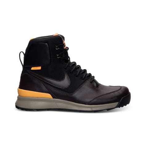air boots lyst nike mens air stasis boots from finish line in