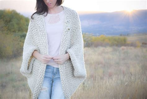 crochet or knit which is easier easy knit blanket sweater pattern in a stitch