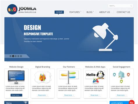 joomla 3 templates sj joomla3 free template for joomla 3 x