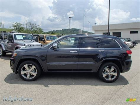 2014 blue jeep grand 2014 jeep grand cherokee overland 4x4 in true blue pearl