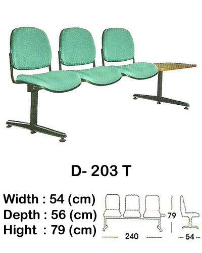 Kursi Tunggu Indachi kursi tunggu indachi d 203 t sentra kantor surabaya