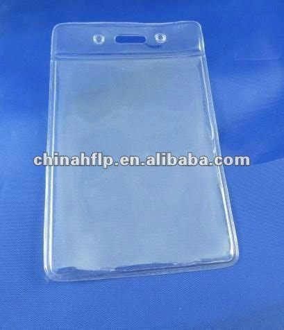 Tempat Cover Id Card plastic pouches for id cards id card pvc pouches badge