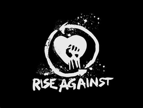 Logo Rise Against rise against logo entertainment background