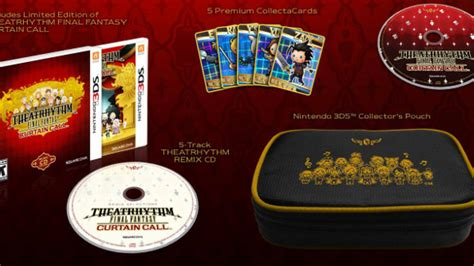 theatrhythm final fantasy curtain call 3ds theatrhythm final fantasy curtain call release date ce