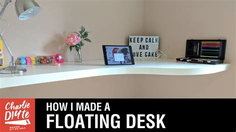 how to a floating desk how to a floating desk