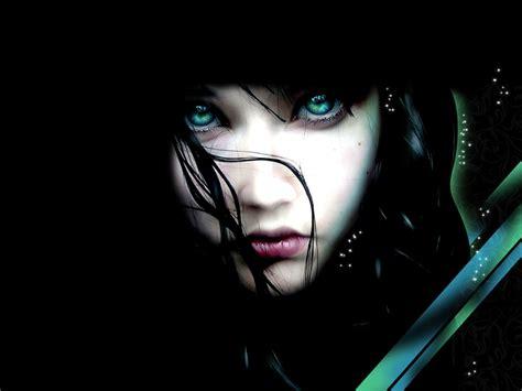 wallpaper dark girl 1024x768 fantasy girl desktop wallpaper desktop pc and mac