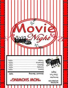 Popcorn Wrapper Template Free by Free Microwave Popcorn Wrapper Template Just B Cause