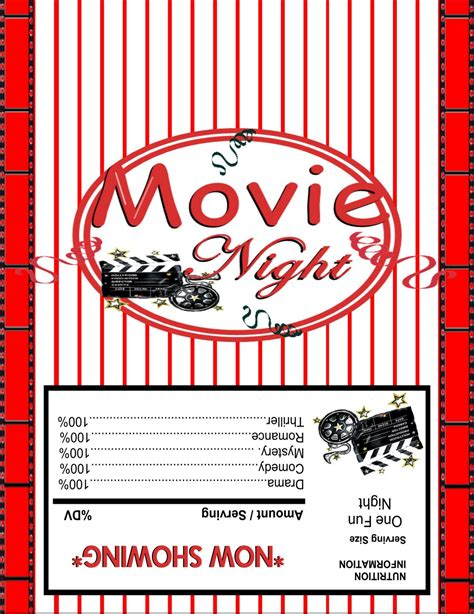popcorn wrapper template free free printable microwave popcorn wrappers just b cause