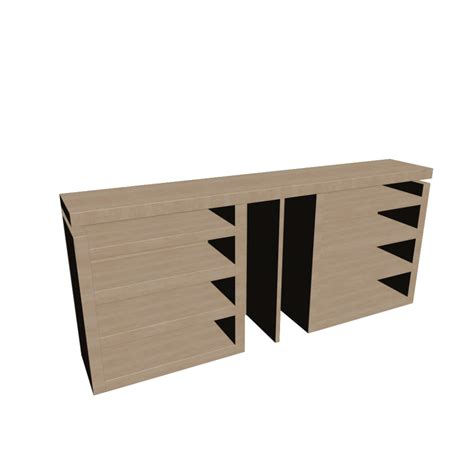 Ikea Malm Headboard Malm 3 Headboard Bed Shelf Set Design And Decorate Your Room In 3d