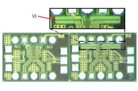 inductor design on chip the broadband lifier using vertical inductors