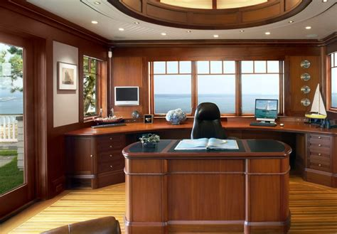 nautical office decor workspaces with views that wow