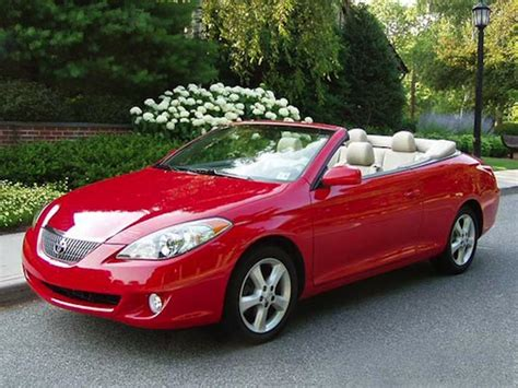 How Much Is A Toyota Solara Are Convertibles Dying The Cargurus