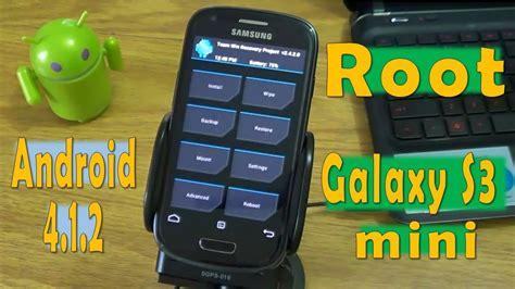 tutorial root y recovery avanzado samsung galaxy s3 mini i8190l