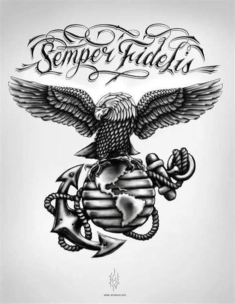 custom eagle globe and anchor watching his six tattoos free eagle globe and anchor download free clip art free