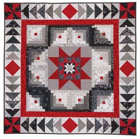 Patchwork System - black white quilt patterns at from marti