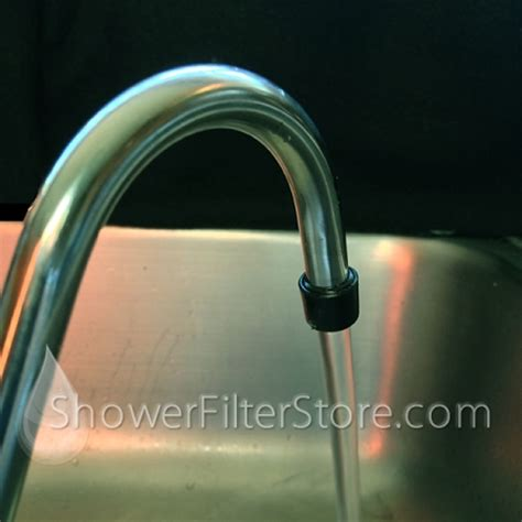 Travel Shower Filter by Countertop Water Filters With Catalytic Carbon Block
