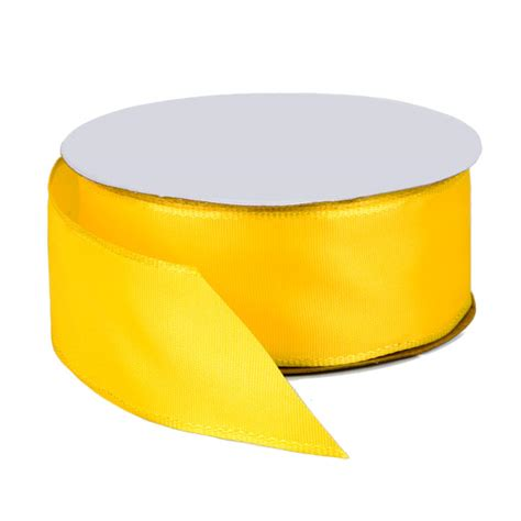 Mba Schools Yellow Ribbon by Bright Yellow Wired Ribbon The Container Store