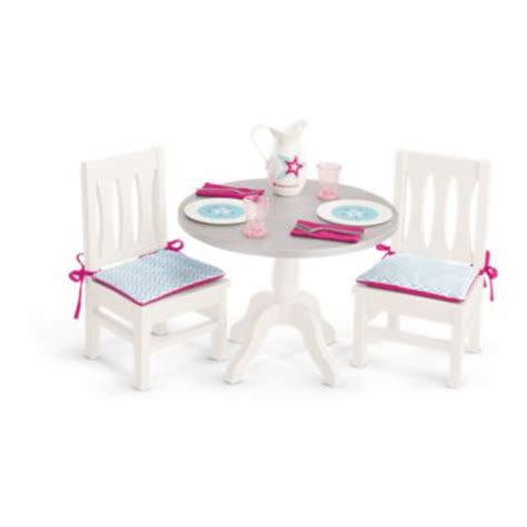 american girl doll chairs and table dining table chairs truly me american girl