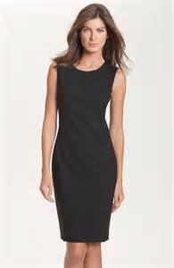 Galerry black sheath dress how to wear