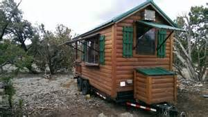 2013 custom built log cabin concession trailer 16x8 5