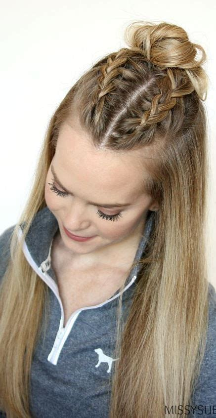 easy hairstyles for school for thick hair best 25 thick hair ideas on