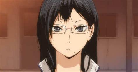 kurotsuki karakter anime cewek megane terkawaii