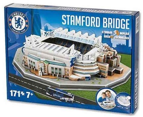 Diskon Puzzle Miniatur Stadion Stamford Bridge Chelsea 3d puzzle nanostad uk stamford bridge fotbalov 253 stadion chelsea puzzle alza cz