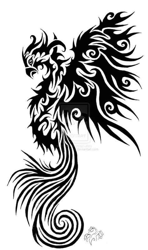 phoenix tribal tattoo - Google Search | Tattoos