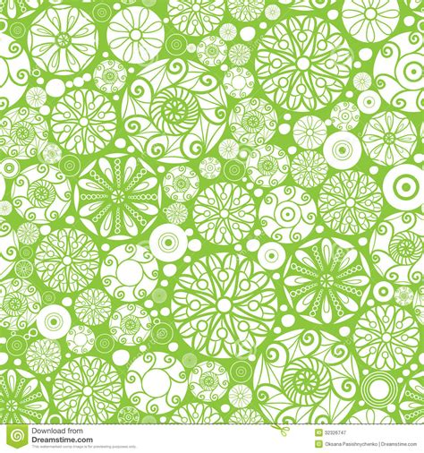 abstract green pattern abstract green and white circles seamless pattern royalty