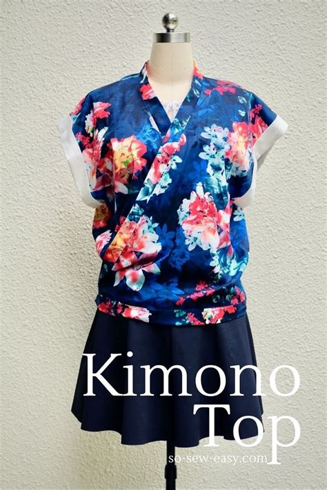 kimono pattern free free pattern loose fit kimono top sewing