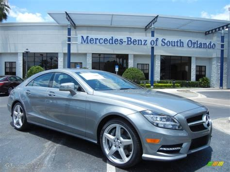 2014 palladium silver metallic mercedes cls 550 coupe 81225642 gtcarlot car color