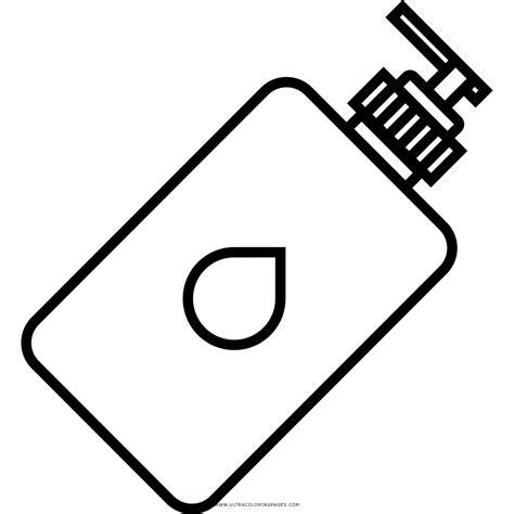 imagenes para colorear jabon dibujo de dispensador de jab 243 n para colorear ultra