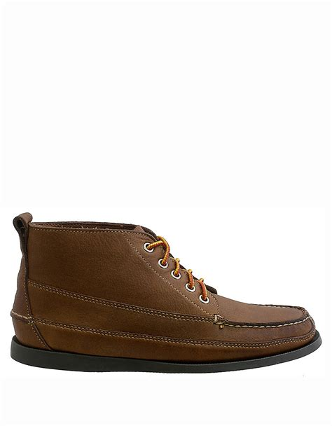 bass s boots g h bass co carlton leather chukka boots in brown for