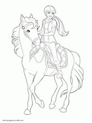 mini barbie coloring pages pony tale coloring pages coloring coloring pages