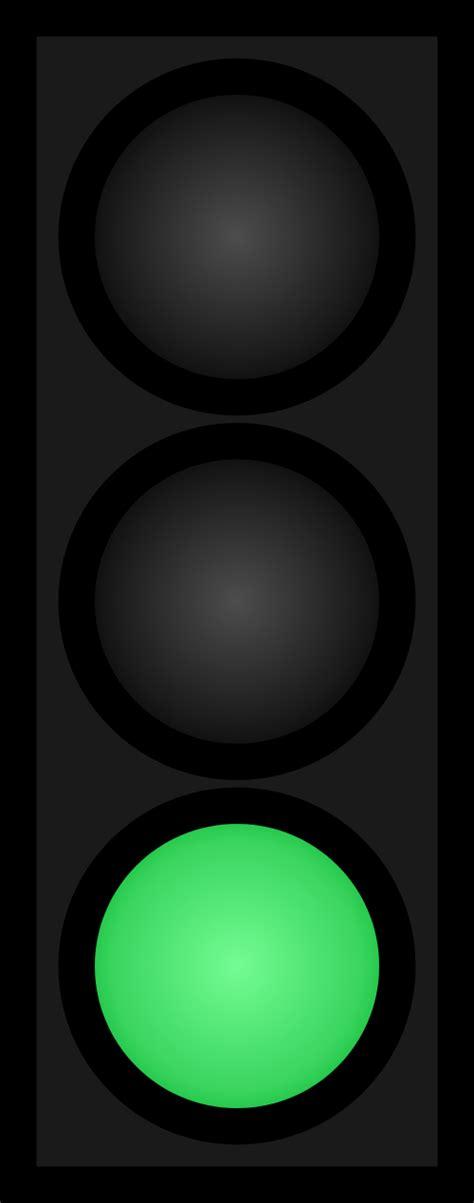 Green Traffic Light by Green Traffic Light Symbol