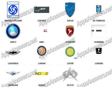 Auto Logo Quiz Level 6 by Logo Quiz Cars Answers Level 6 Driverlayer Search Engine
