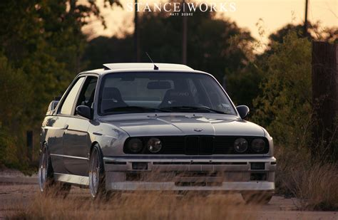 bmw e30 modified stance works greg strube s bmw e30 m3